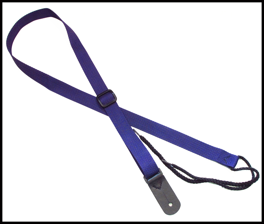 Purple 1 Inch Mandolin Strap