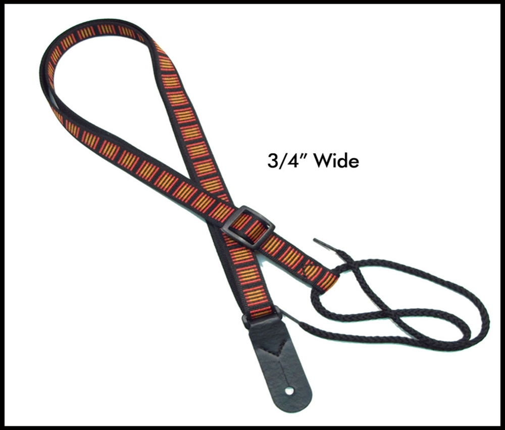Hot Tracks 3/4  Inch Mandolin Strap