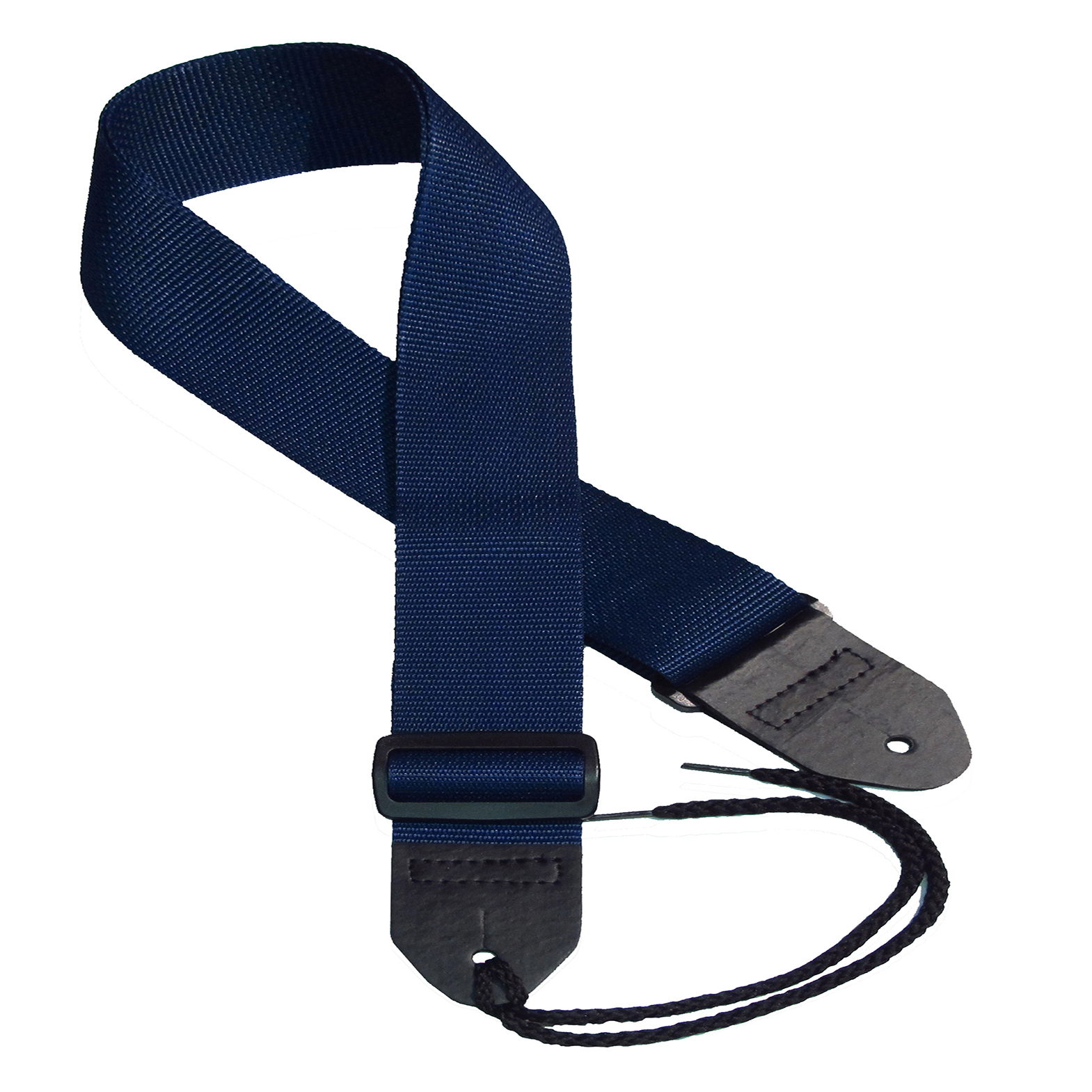 Navy poly guitar strap
