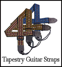 Tapestry Guitar Straps