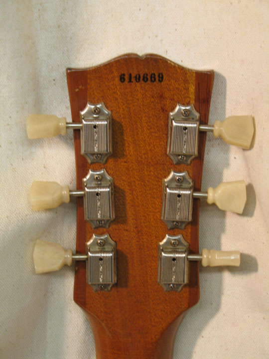 Goldtop Headstock